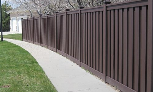 Image of Trex composite fencing